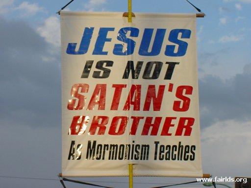 Jesus and Satan Brothers