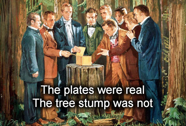 Plates were real tree stump was not.jpg
