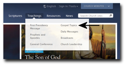 How to access the essays on LDS.org.png