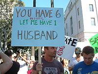 6 wives vs. 1 husband?